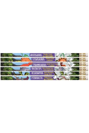 Dinosaurs Pencils - Pack of 10