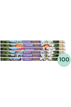Dinosaurs Pencils - Box of 100