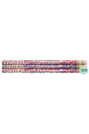 Outstanding Student Pencils - Box of 100