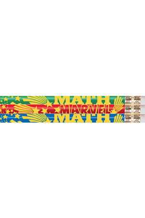 Maths Mega Star Pencils - Pack of 10
