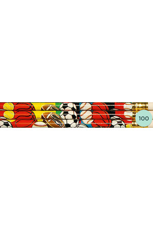 Super Sport Pencils - Box of 100