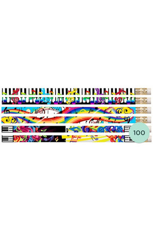 Bizzare Notes Pencils - Box of 100