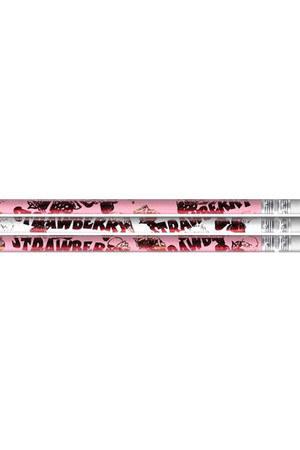 Strawberry Scented Pencils - Pack of 10