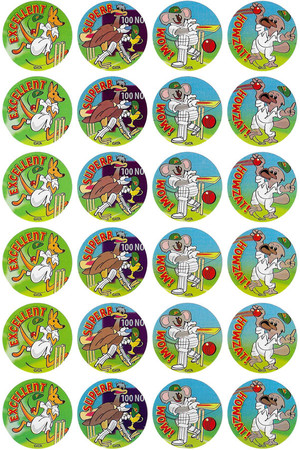 Australian Cricket Merit Stickers