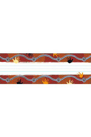 Aboriginal Trail Restickable Name Plate