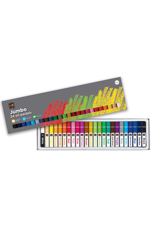 Jumbo Oil Pastels - Pack of 24