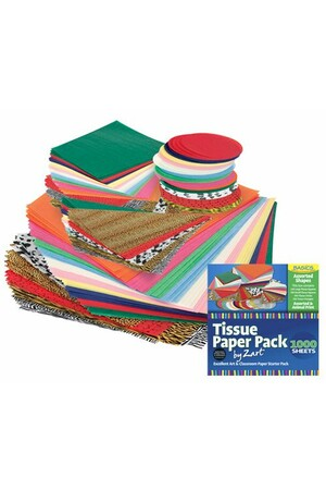 Basics - Classroom Tissue Paper (Pack of 1000)