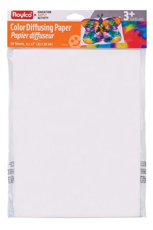 Colour Dispersing Paper - Pack of 50