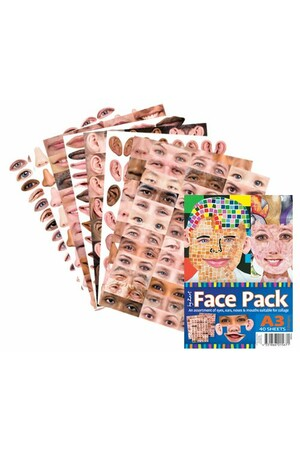 Face Pack Paper (A3) - Pack of 40