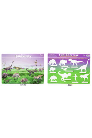 Dinosaurs Double-Sided Placemat