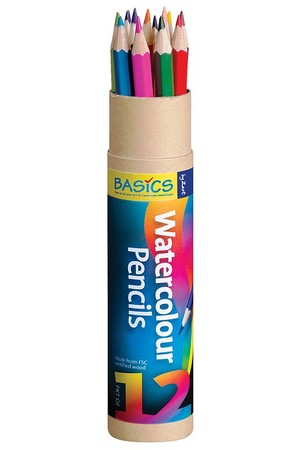 Basics - Watercolour Pencils (Pack of 12)