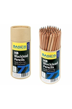 Basics - Blacklead Pencils: HB (Pack of 72)