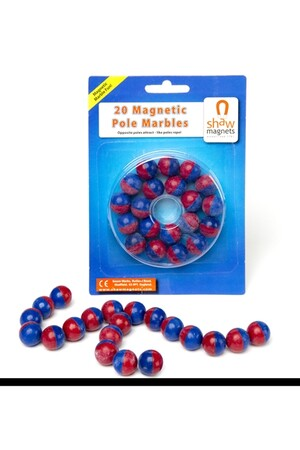 Magnetic Pole Marbles - Pack of 20