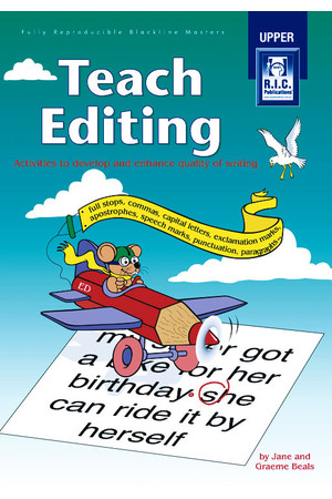 Teach Editing - Ages 10-12