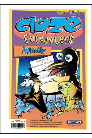 Cloze Encounters - Ages 5-7: Animals