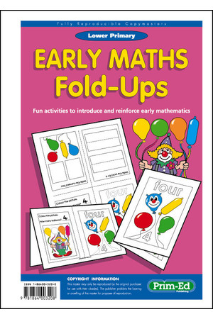 Early Maths Fold-Ups