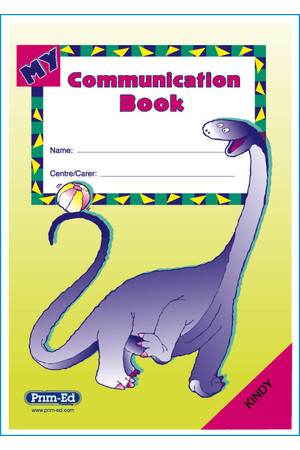 My Communication Book - Kindy: Ages 3-5