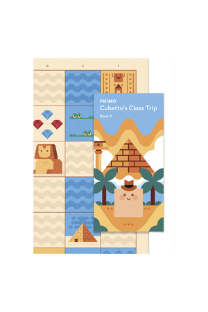 Cubetto - Adventure Pack Map and Story Book: Egypt