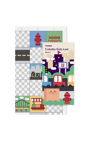 Cubetto - Adventure Pack Map and Story Book: City Map