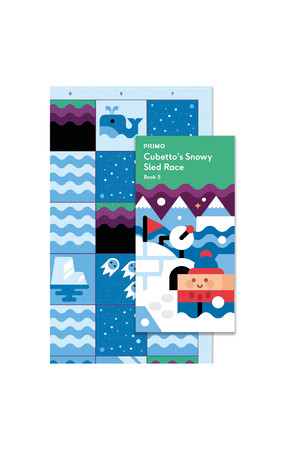 Cubetto - Adventure Pack Map and Story Book: Polar Expedition