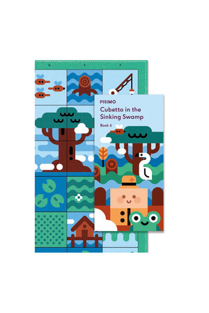 Cubetto - Adventure Pack Map and Story Book: Swarming Swamp