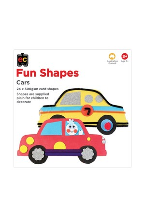 Fun Shapes Transport: Cars