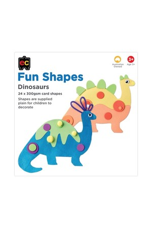 Fun Shapes Animals: Dinosaur