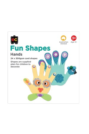 Fun Shapes Body Parts: Hands