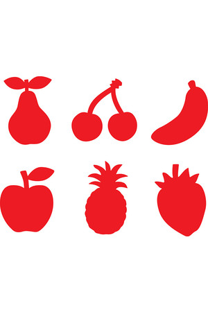 Paint Stampers Fruit: Set of 6