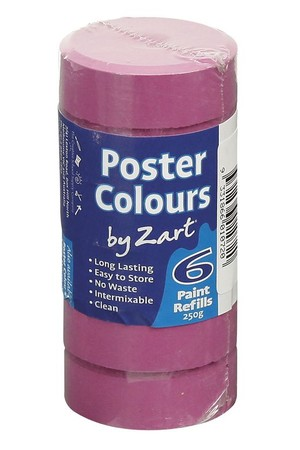 Poster Colours by Zart (Refills) - Purple