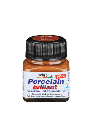 Porcelain Paint (20ml) - Cognac