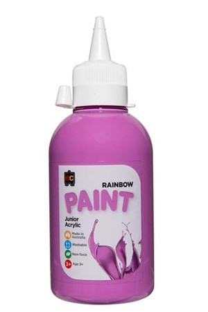 Rainbow Paint Junior Acrylic Paint 250mL - Lilac