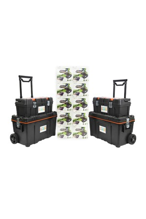 10x Robobloq - Qoopers 6-in-1 Robot with 2 Free Storage Kits