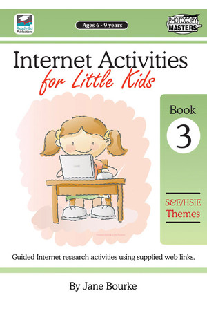 Internet Activities for Little Kids - Book 3: Social Science Themes