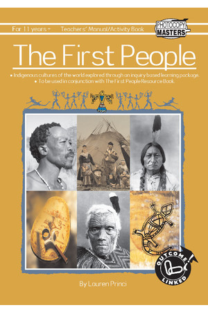 The First People Series - Activity Book (BLM)