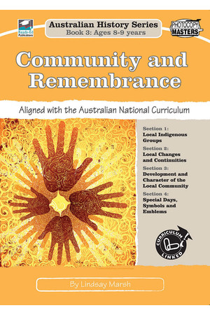 Australian History Series - Year 3: Community Remembrance