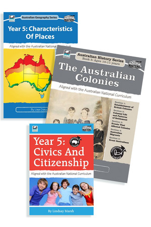 Australian Curriculum Humanities BLM Bundle - Year 5
