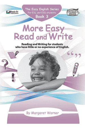 Easy English - Book 3: More Easy Read and Write