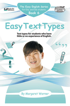 Easy English - Book 6: Easy Text Types