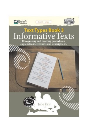 Text Types - Book 3: Informative Texts
