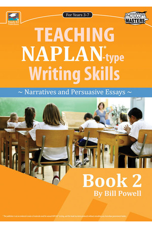 Teaching NAPLAN-Type Writing Skills - Book 2