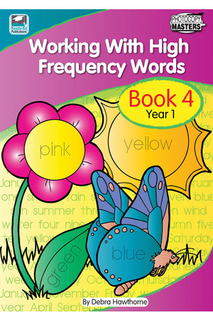 Working with High Frequency Words - Book 4