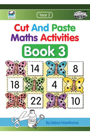 Cut and Paste Maths Activities - Book 3: Year 2