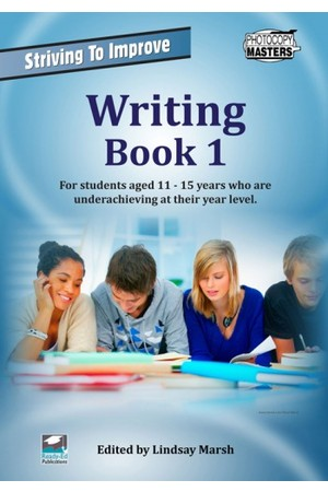 Striving to Improve - English:  Writing (Book 1)