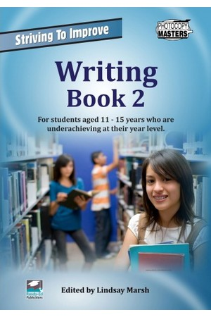 Striving to Improve - English: Writing (Book 2)