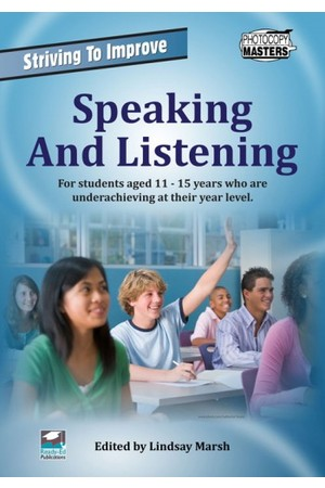 Striving to Improve - English: Speaking and Listening