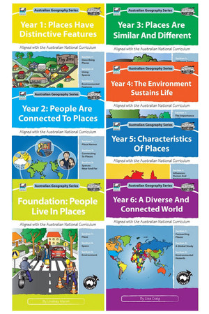 Australian Geography Series - Book Pack