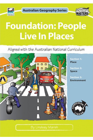 Australian Geography Series - Foundation: People Live in Places