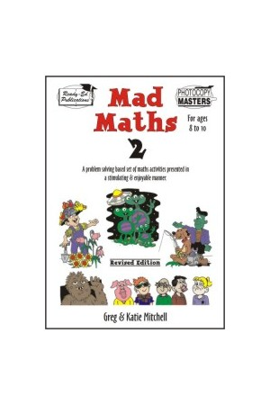 Mad Maths - Book 2: Ages 8-10