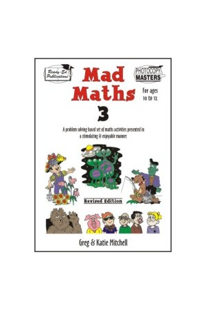 Mad Maths - Book 3: Ages 10-12